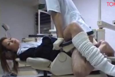 歯医者に来たギャル女子校生がタイプ過ぎて麻酔打って昏睡レイプ中出し!!!