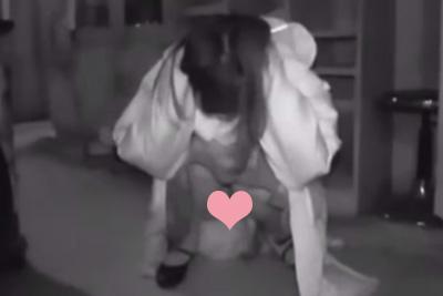 【アイドル パンチラ】AKBがお化け屋敷で腰砕け!暗視カメラでパンチラ撮られる♡