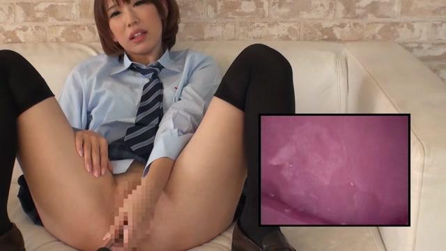 ⑥美少女JKにカメラ付きバイブで膣の中を見せてもらいながらオナニーさせてみたww