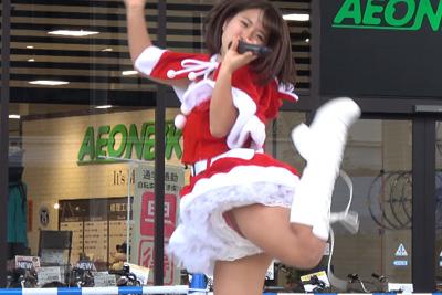 【アイドル パンチラ】このアイドル見せパンガバガバ過ぎてパンツ丸見えなんだがww 問題のシーン2:05