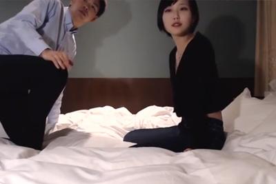 《個人撮影》めちゃくちゃ可愛いギャルJK彼女とのハメ撮りがネットに流出したリベンジポルノがこちら