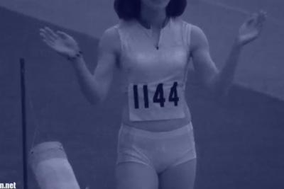 《盗撮》陸上女子の薄手ブルマを赤外線カメラで撮影した結果w