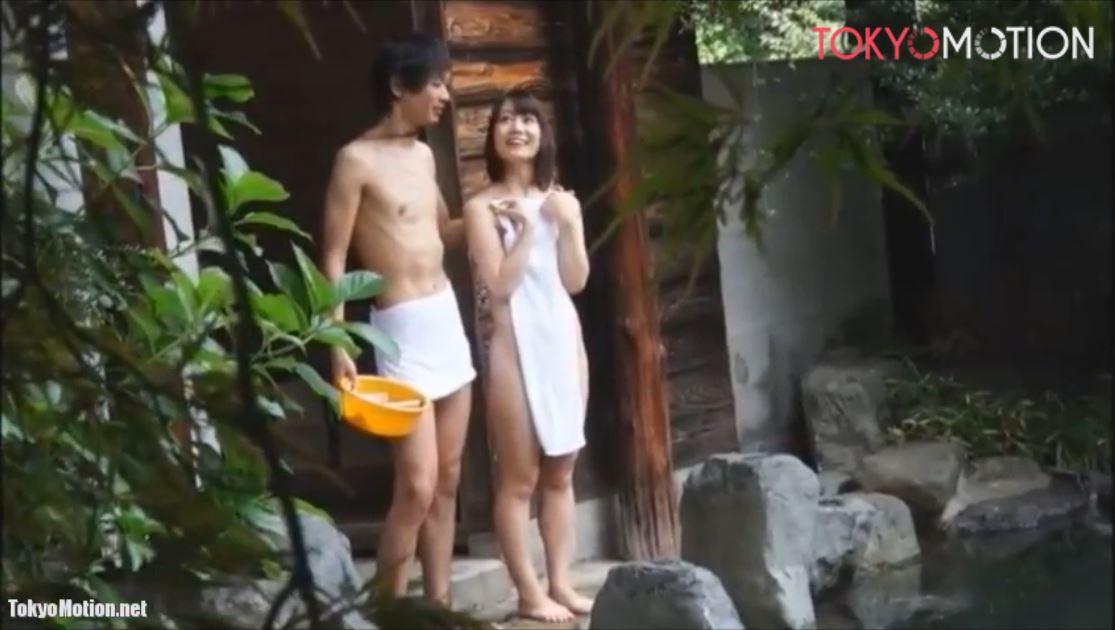 《恋人同士が貸し切り露天風呂でS○X》『彼女のカラダを洗いながら攻める』フェラ~ハメ♪